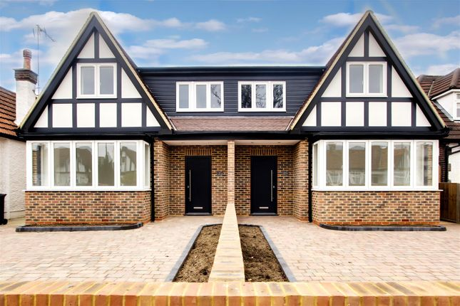 Thumbnail Semi-detached house for sale in Manorway, Enfield