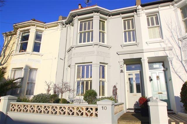 Thumbnail Terraced house for sale in Lucerne Road, Brighton, East Sussex