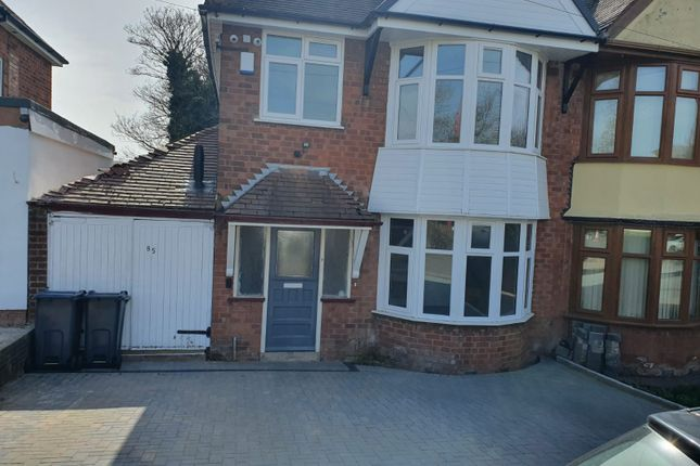 Thumbnail Semi-detached house to rent in Kings Rd, Sutton Coldfield