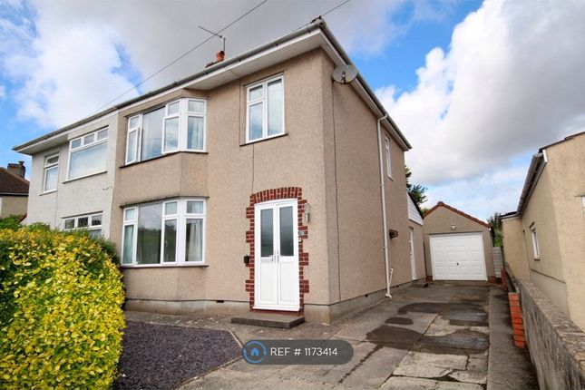 Thumbnail Semi-detached house to rent in Ferndale Road, Bristol