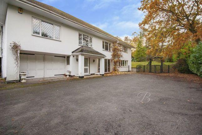 Thumbnail Detached bungalow for sale in Regina Crescent, Ravenshead, Nottingham