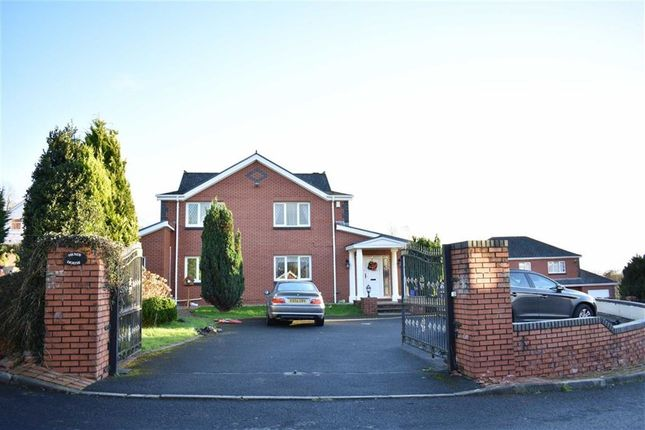 Thumbnail Detached house for sale in Sawel Court, Hendy, Pontarddulais, Swansea