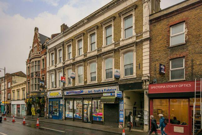 Thumbnail Flat for sale in Stoke Newington High Street, Stoke Newington
