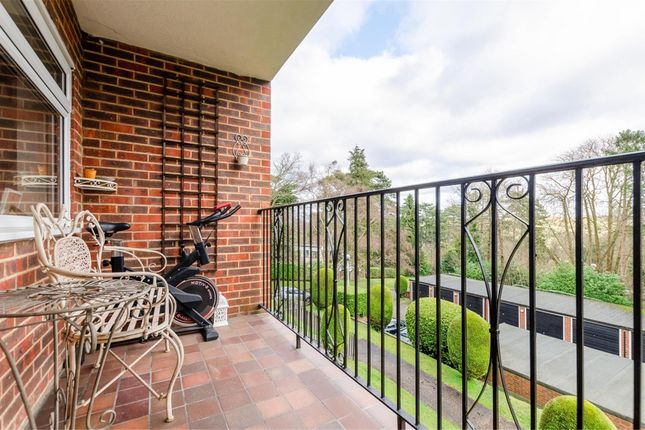 Balcony of Flat 6 Windermere Court, 44 Park Road, Kenley, Surrey CR8