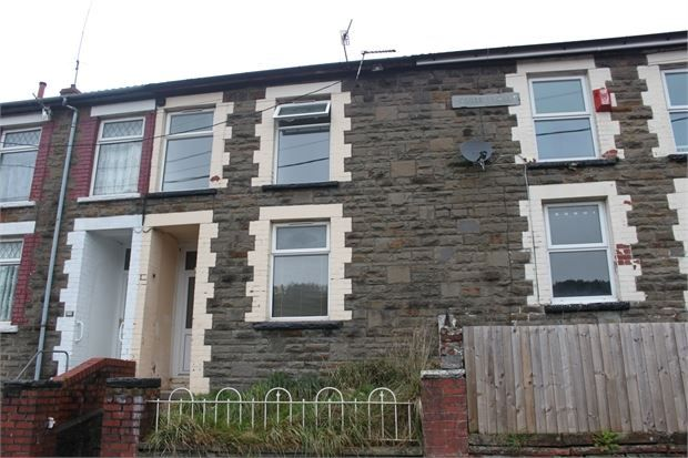 Thumbnail Terraced house to rent in Castle Street, Cwmparc, Treorchy, Rhondda Cynon Taff.