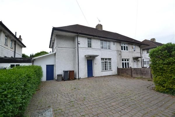 Semi-detached house for sale in Castle Way, Feltham