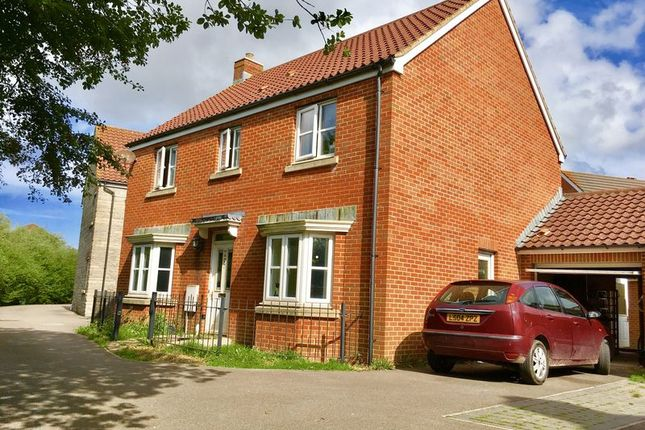 Thumbnail Detached house for sale in Howitt Way, Weston Village, Weston-Super-Mare