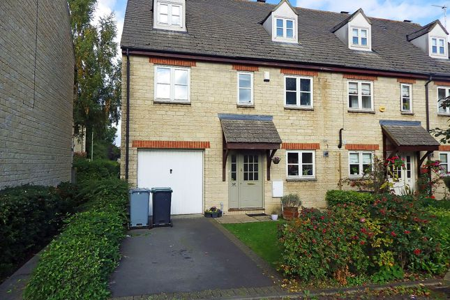 Thumbnail Semi-detached house to rent in Waine Rush View, Witney, Oxfordshire