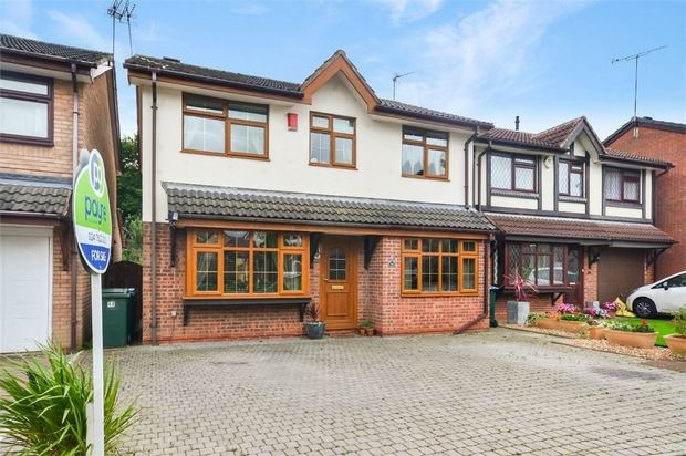 Thumbnail Detached house for sale in Glenmore Drive, Longford, Coventry, West Midlands