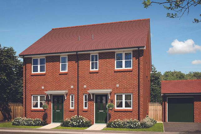 Thumbnail Semi-detached house for sale in Ash Lodge Park, Ash