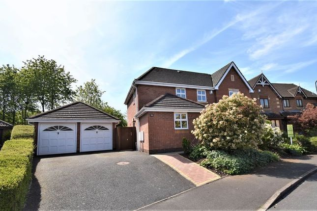 Thumbnail Detached house for sale in Harley Close, Wellington, Telford