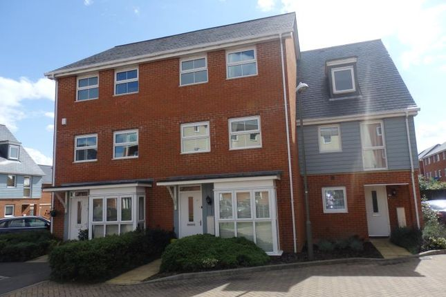 Thumbnail Terraced house to rent in Burrage Road, Redhill