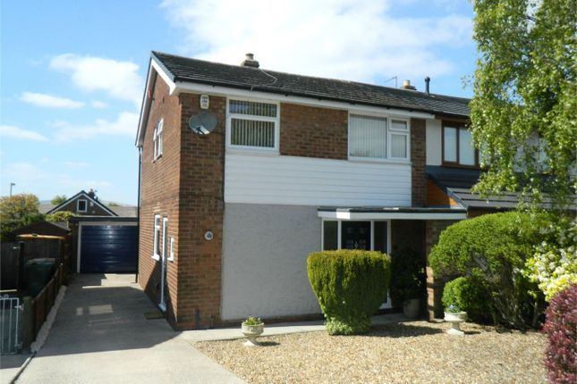 Thumbnail Semi-detached house for sale in Hawkstone Close, Bolton