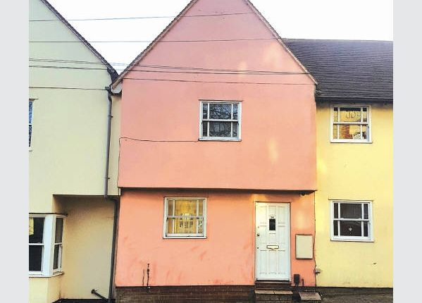 Thumbnail Terraced house for sale in East Hill, Colchester