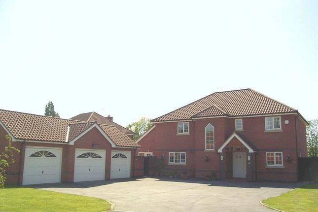 Thumbnail Detached house for sale in Mountfields, Bangor On Dee, Wrexham