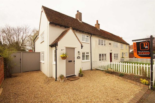 Thumbnail End terrace house for sale in Rose Cottage, The Street, Great Tey, Colchester