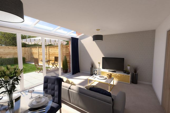 Thumbnail Semi-detached house for sale in Brunel Way, Alcester Road, Stratford Upon Avon, West Midlands