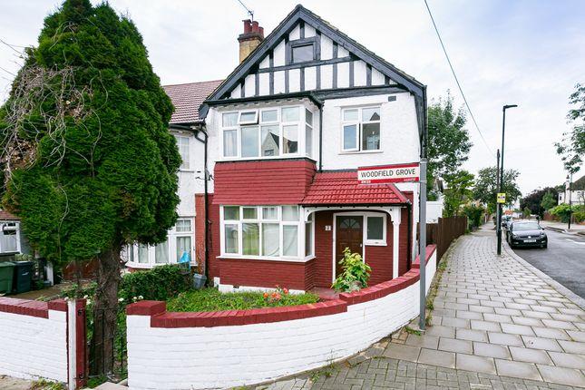 Thumbnail End terrace house for sale in Mount Ephraim Lane, London
