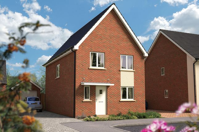 "Thumbnail Semi-detached house for sale in ""The Salisbury"" at Amesbury Road, Longhedge, Salisbury"