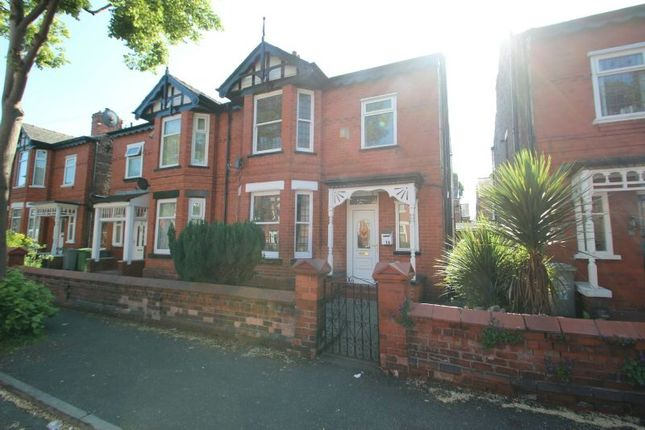 Thumbnail Semi-detached house for sale in Morland Road, Old Trafford, Manchester