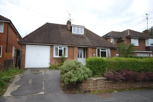 Thumbnail Detached bungalow for sale in Churchill Avenue, Aldershot, Hampshire