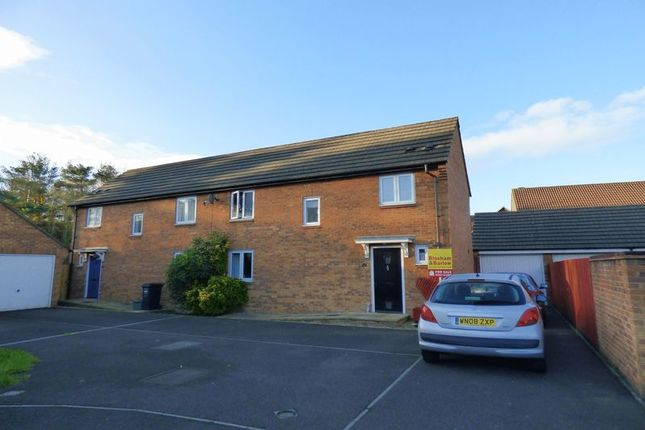 Thumbnail Semi-detached house for sale in Ash Close, St Georges, Weston-Super-Mare