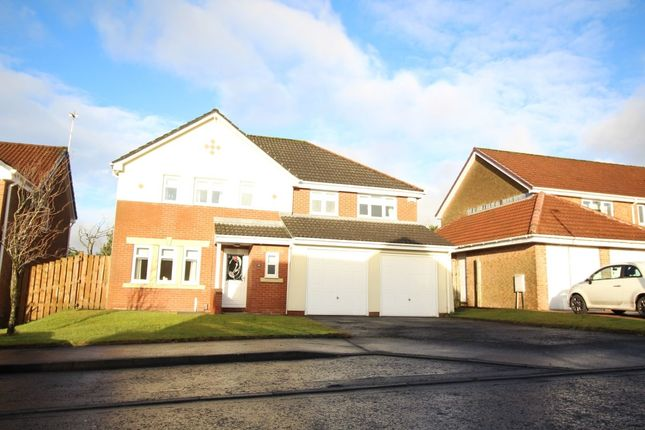 Thumbnail Detached house to rent in Ratho Drive, Cumbernauld, Glasgow