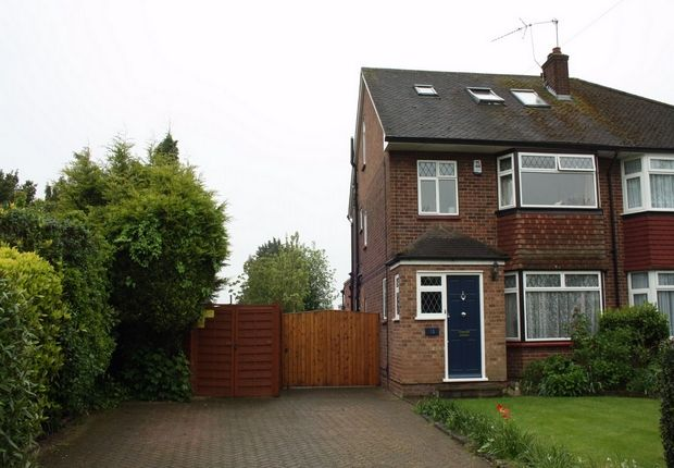 Thumbnail Semi-detached house to rent in Mellow Lane East, Hayes End, Middlesex