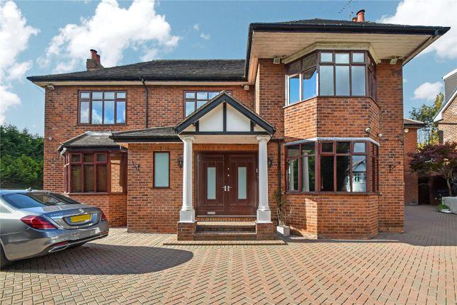 Thumbnail Detached house for sale in Castle Hill Road, Prestwich