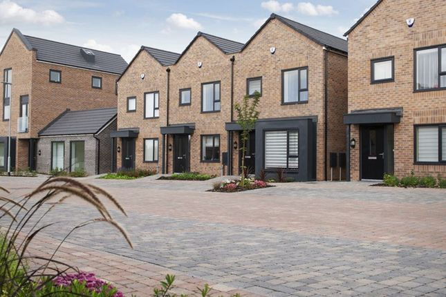 """Thumbnail Semi-detached house for sale in """"Cadwell"""" at Dunnock Lane, Cottam, Preston"""