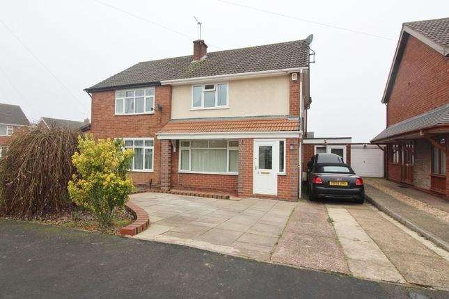 Thumbnail Semi-detached house for sale in Lilac Road, Willenhall