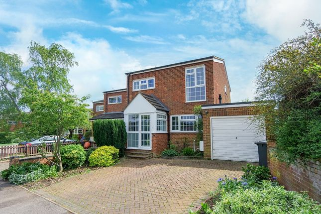 Thumbnail Detached house to rent in The Ridgeway, Codicote, Hitchin, Hertfordshire