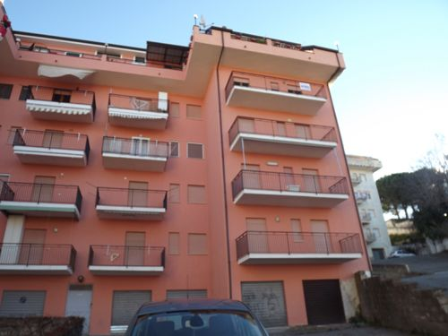External of Piano Lettieri, Scalea, Calabria, Italy
