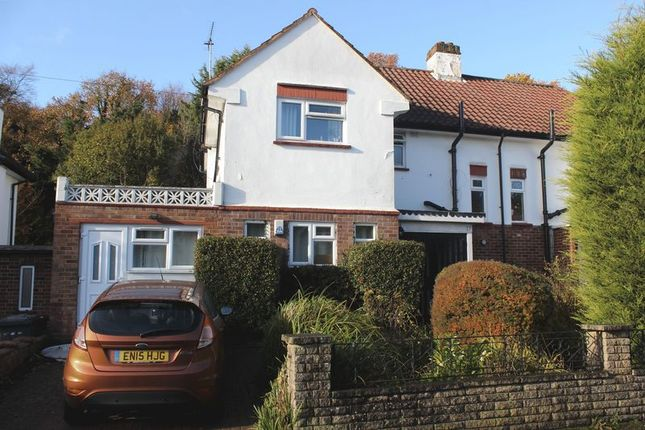 Thumbnail Semi-detached house to rent in Spring Rise, Englefield Green, Egham