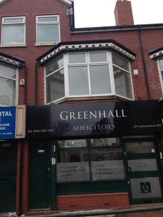 Thumbnail Flat to rent in (First Floor Flat) Lansdowne Road, Crumpsall, Manchester