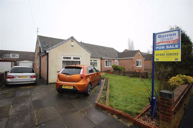 Thumbnail Semi-detached bungalow for sale in Ludlow Avenue, Hindley Green, Wigan