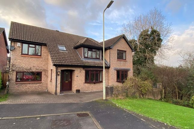 Thumbnail Detached house for sale in 19 St. Michaels Way, Brackla, Bridgend