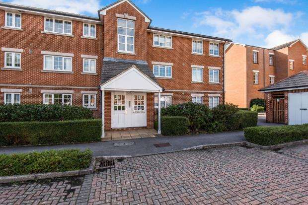 Thumbnail 1 bed flat to rent in Sopwith Close, Kingston
