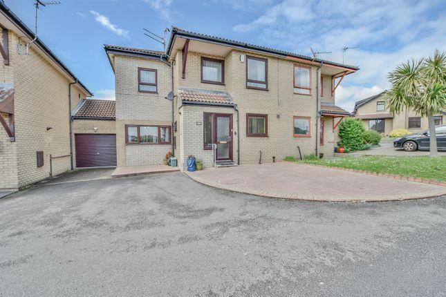 Thumbnail Semi-detached house for sale in Heol-Y-Gaer, Barry