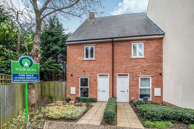 Thumbnail Terraced house for sale in School Mead, Abbots Langley