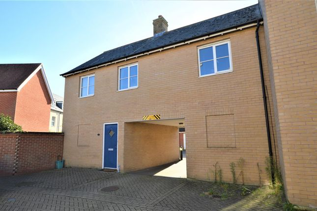 Thumbnail Flat for sale in John Hammond Close, Colchester
