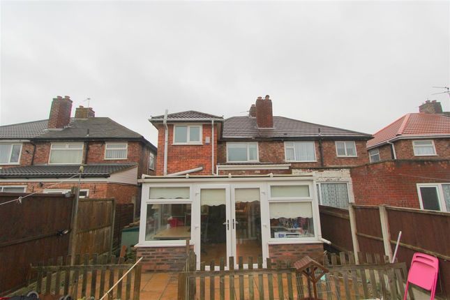 Thumbnail Semi-detached house for sale in Jeffereys Crescent, Huyton, Liverpool
