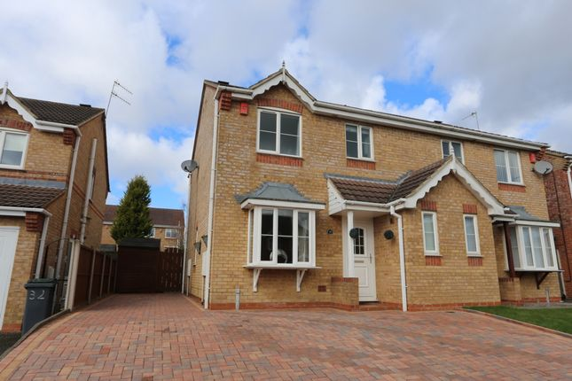 Thumbnail Semi-detached house for sale in Ravenna Way, Weston Park