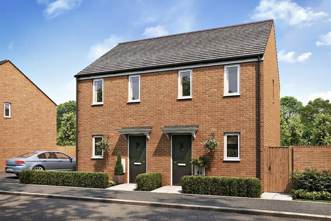 """Thumbnail Semi-detached house for sale in """"The Morden"""" at Princess Gardens, Grove, Wantage"""