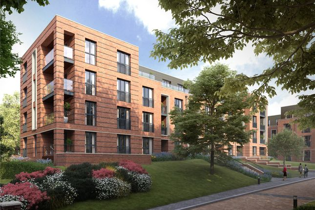 Thumbnail Flat for sale in Bedivere Apartments, Knights Quarter, Winchester