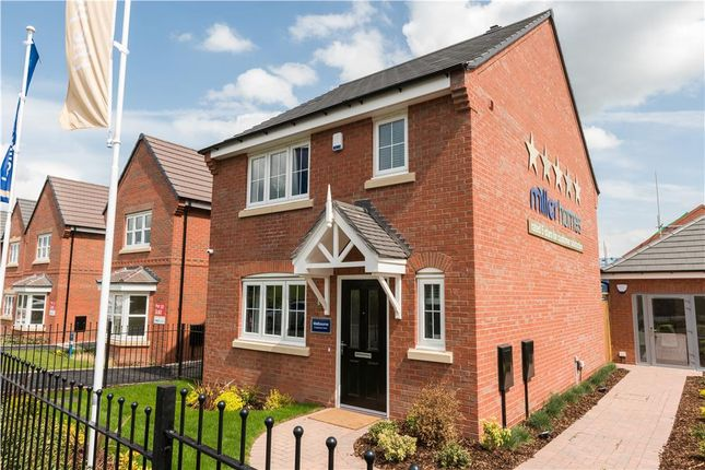 "Thumbnail Detached house for sale in ""Malvern"" at Fleckney Road, Kibworth, Leicester"