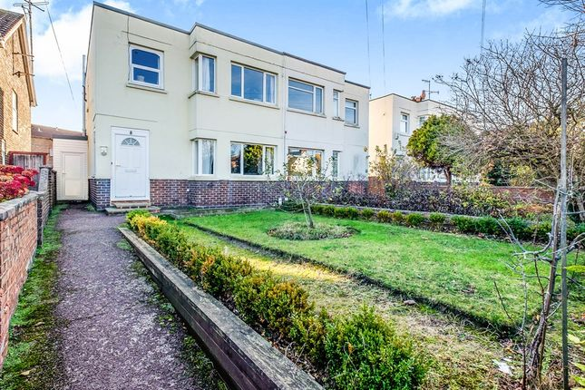 Thumbnail Semi-detached house for sale in Freshbrook Road, Lancing