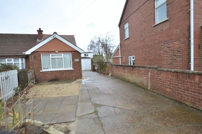 Thumbnail Semi-detached bungalow for sale in Includes Two Storey Barn Brigg Road, Messingham, Scunthorpe