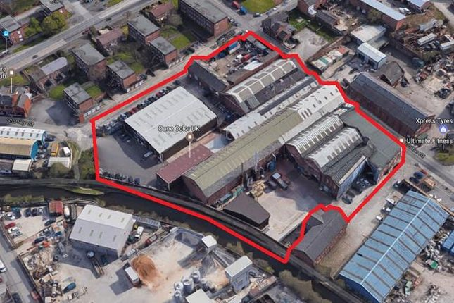 Thumbnail Commercial property for sale in Phoenix Works, 7 Stanley Street, Stalybridge