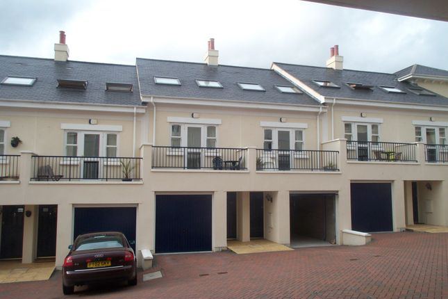 Thumbnail Town house to rent in Lisburne Place, Torquay